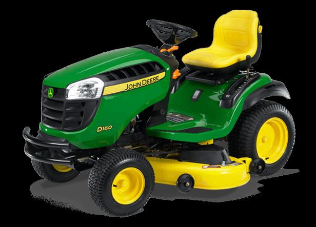 John Deere 100 Garden Tractor Attachments : D lawn tractor new series prairiecoast equipment