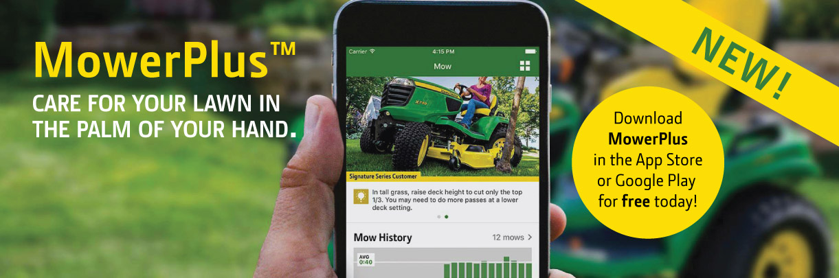 MowerPlus JohnDeere App