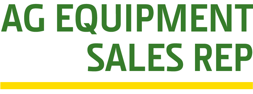 AG Equipment Sales Rep