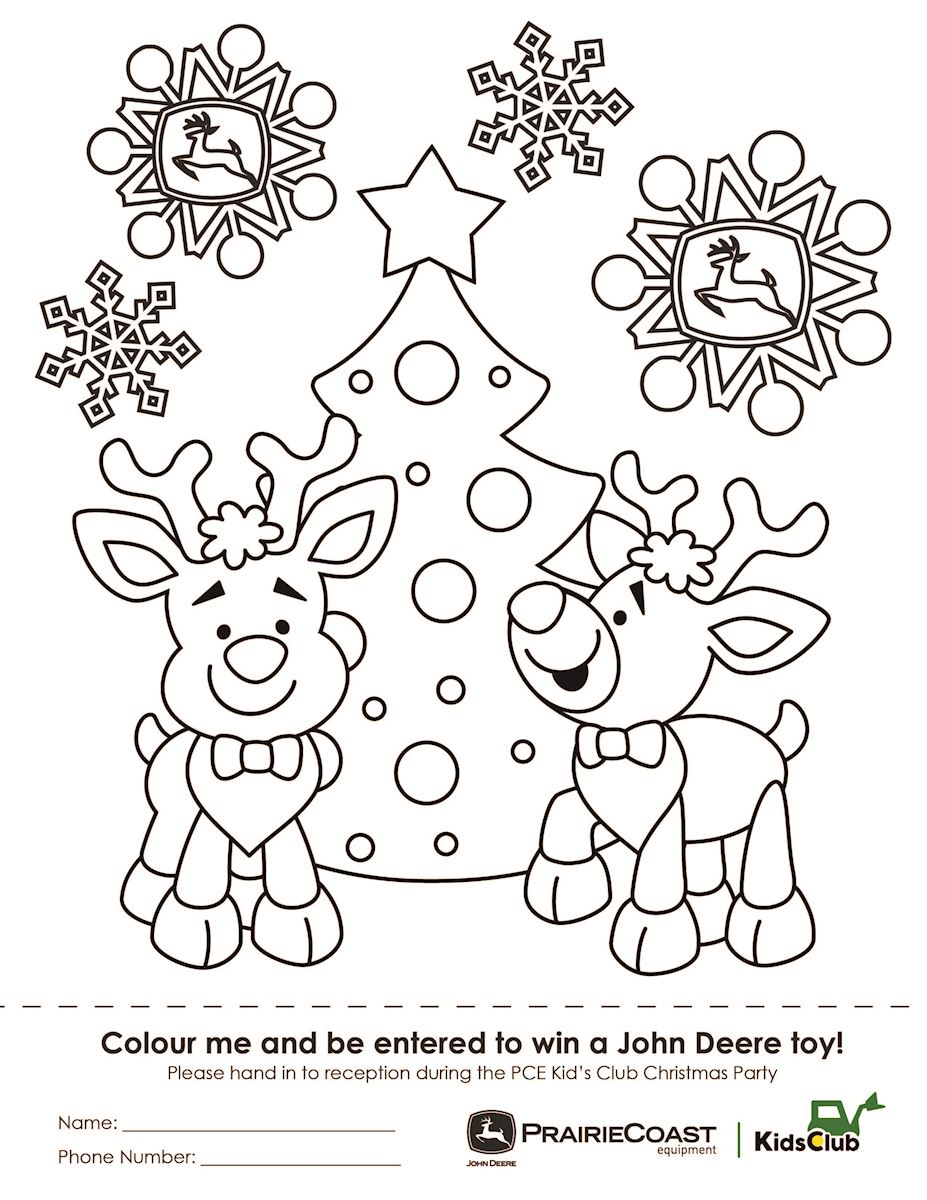 Kid Club colouring page